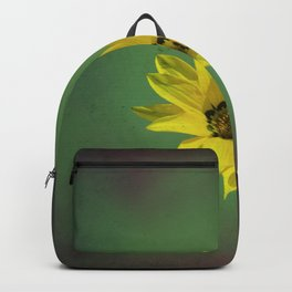 The yellow flower of my old friend Backpack
