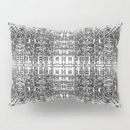Ridiculously Intricate Digital Pattern Pillow Sham