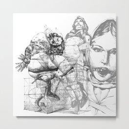 TRIPTYCH_part_1 Metal Print