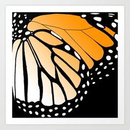 Butterfly Wing - Monarch Art Print