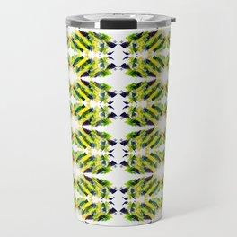 ethno kaleidoscope art smears Travel Mug