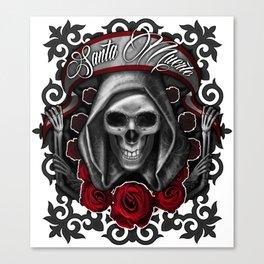 Santa Muerte 6 Canvas Print
