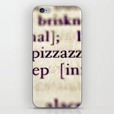 Pizzazz iPhone & iPod Skin