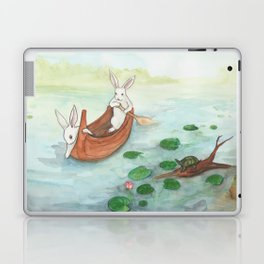 Lazy Day in the Canoe Laptop & iPad Skin