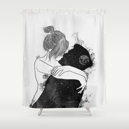 You're my favorite city. Shower Curtain