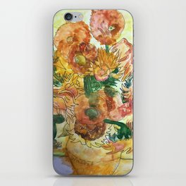 Grandma's Sunflowers iPhone Skin