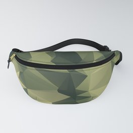 Low-poly camoflauge pattern Fanny Pack
