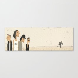 In Dog's Country Canvas Print