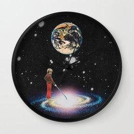 The luminous child Wall Clock