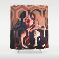 shining Shower Curtains featuring Shining by Joshua Lew