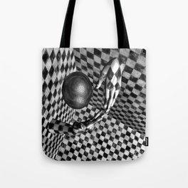 Abstract Handball 2 Tote Bag