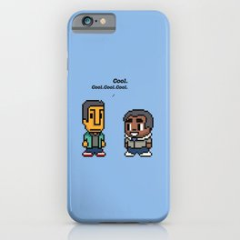 Troy and Abed - Community - TV show iPhone Case