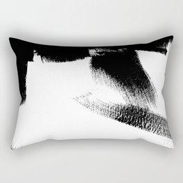 Black Door 1 Rectangular Pillow