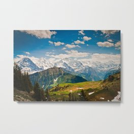 berner oberland, switzerland Metal Print
