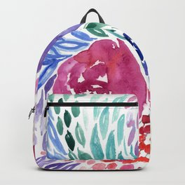 Floral Swirl Backpack
