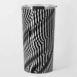 Op Art #1 Travel Mug