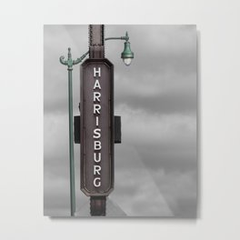 Harrisburg, Pa Metal Print