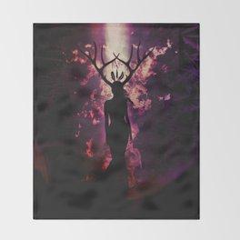 Deer Dreams Throw Blanket