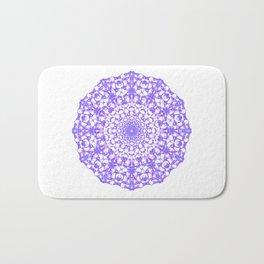 Mandala 12 / 4 eden spirit purple Bath Mat