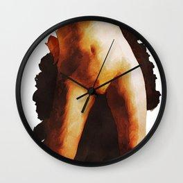 Self Portrai by MB Wall Clock