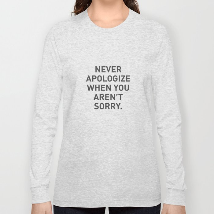 Motivational Long Sleeve T-shirt