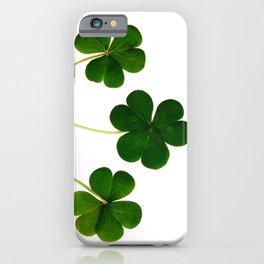 Shamrocks iPhone Case
