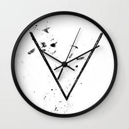 V Sigil Wall Clock