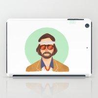 tenenbaum iPad Cases featuring Richie Tenenbaum by Galaxyspeaking