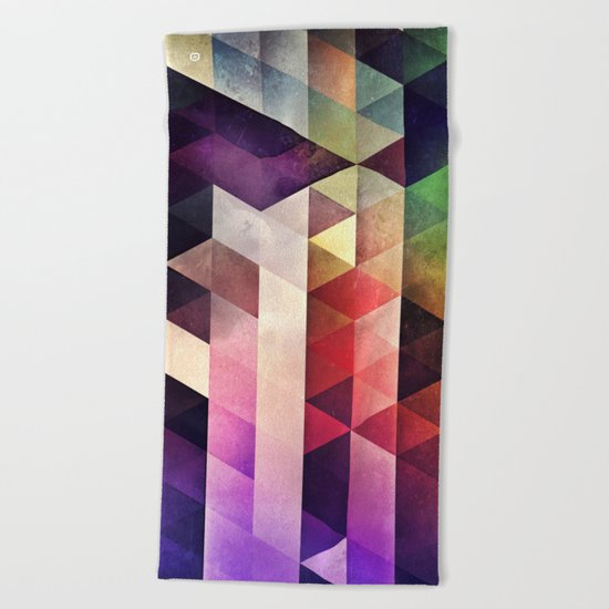 lyte bryk Beach Towel