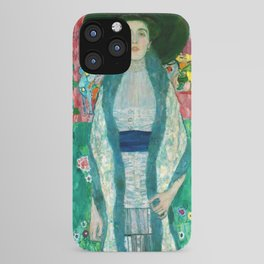 "Gustav Klimt ""Portrait of Adela Bloch-Bauer"" II iPhone Case"