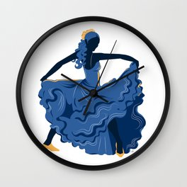 Flamenco Dancer 1 Wall Clock