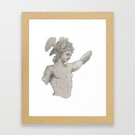 Perseus Study Framed Art Print
