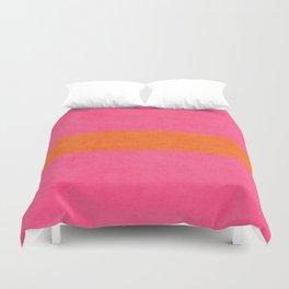 hot pink and orange classic  Bettbezug