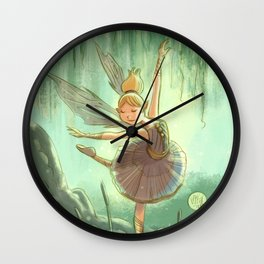 Goblins Drool, Fairies Rule - Willow Sue Wall Clock