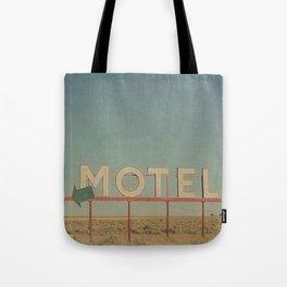 Vintage Motel Tote Bag