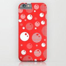 Bubblemagic - Red Slim Case iPhone 6s