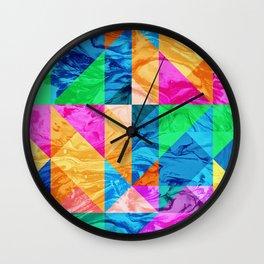 Geometric XXIX Wall Clock