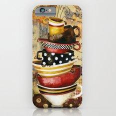 Coffee Cups Divine iPhone 6s Slim Case