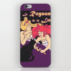 Royaume de la Lune Nouveau iPhone & iPod Skin