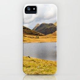 Blea Tarn in the English Lake District iPhone Case