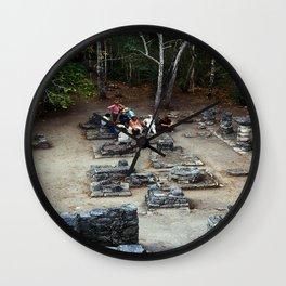 Coba (Maya Ruins) Wall Clock