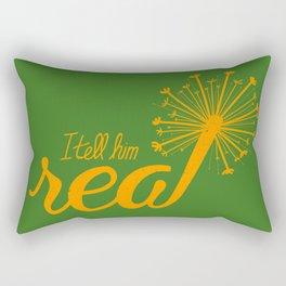 Real Rectangular Pillow