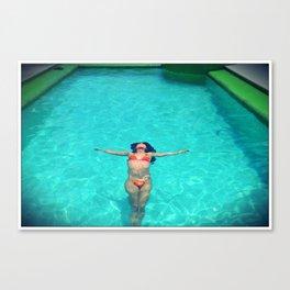 Asian Pool Canvas Print