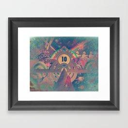 Pinball Redux Framed Art Print