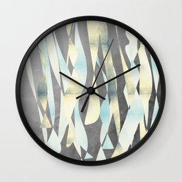 Abstract night party shapes Wall Clock
