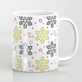 Christmas Snowflakes Pattern 2 Coffee Mug