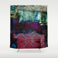 ethnic Shower Curtains featuring Ethnic by haroulita