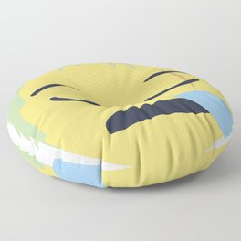 Roronoa Zoro Emoji Design Floor Pillow
