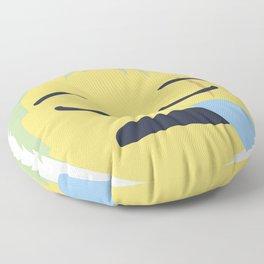 Roronoa Zoro Emoji Design Floor Pillow