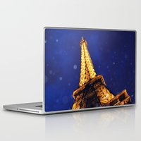eiffel Laptop & iPad Skins featuring EIFFEL by ZakPhotography